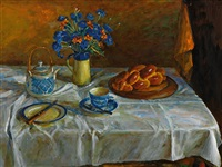 morning brioche by margaret hannah olley