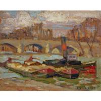 pont royal, paris by alexander young jackson