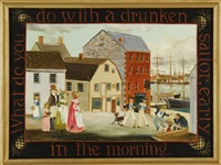 what do you do with a drunken sailor early in the morning? by elizabeth mumford