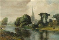stratford-on-avon by sir alfred east