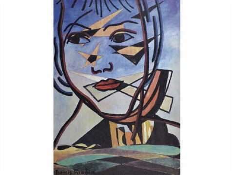 visage surrealiste by francis picabia
