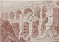 berger dans les ruines du colisée by jacques françois amand