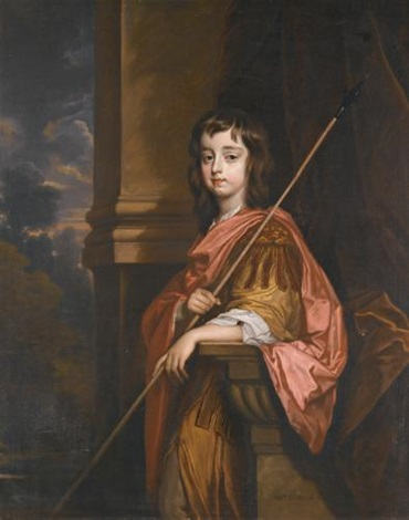 portrait of william seymour 3rd duke of somerset by sir peter lely
