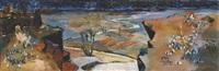 paysage du sud marocain by jean emile laurent