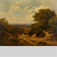 the heath of surrey by john clayton adams
