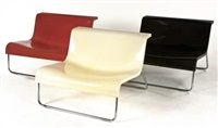 armchairs (set of 3) by piero lissoni
