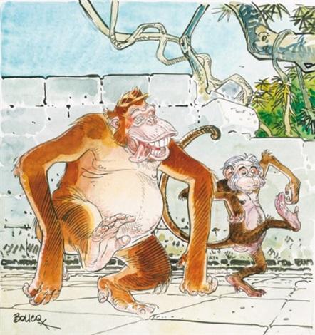 Le Livre De La Jungle By Francois Boucq On Artnet