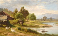 outside myrtleford by james clarke waite