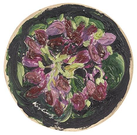 bouquet de violettes by moïse kisling