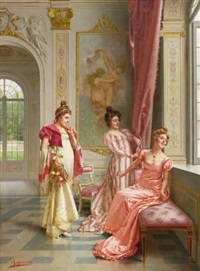 the coquettes adventure by vittorio reggianini
