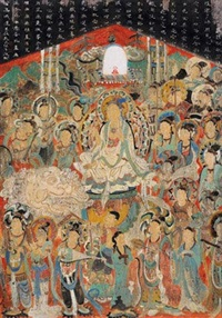 佛龛 by deng jingmin