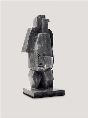 homme assis à la clarinette ii by jacques lipchitz