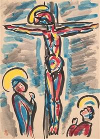 crucifix by takeo yamaguchi