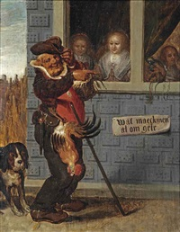 wat maeckmen al om gelt: what one does for money by adriaen pietersz van de venne