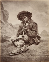 joueur de flûte by carlo naya