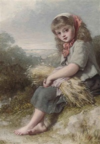 the young harvester by henry lejeune