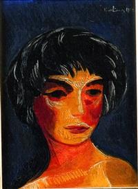 portrait de femme by moïse kisling