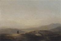 on the moors, dumfriesshire by john wilson ewbank