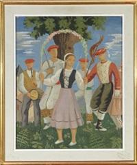la danse soultine ou danse des arceaux by ramiro arrue