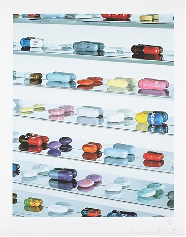 pharmaceutical by damien hirst