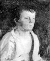 boy with torn shirt by edmund thomas quinn
