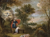 le sacrifice d'isaac by flemish school-antwerp (17)