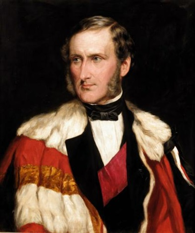 portrait of john 13th lord elphinstone by james faed