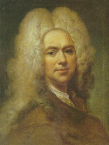 portrait dhomme en buste à la veste marron by joseph vivien
