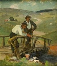 fishermen by janis rikmanis