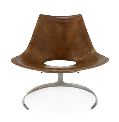scimitar chair by preben fabricius and jørgen kastholm