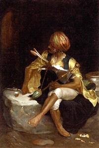a bashi-bazouk (study) by charles bargue