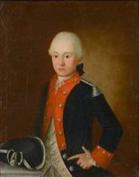 portrait d'un jeune garde de la maison militaire du roi by french school (18)