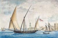 chebeck les trois frères, capitaine lieutenant du bâtiment falca by nicholas cammillieri