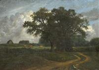 paysage aux vaches by nicolas louis cabat