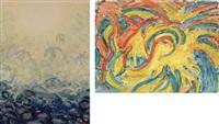 aufstieg (+ in sonnenfluten; 2 works) by karl hennemann