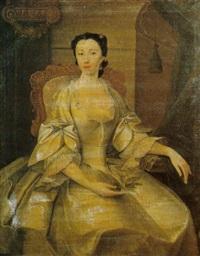 portrait of elizabeth eleanor lloyd, lady stepney by john lewis