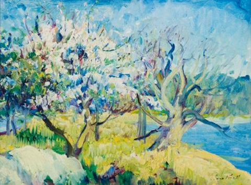 spring by leon kroll