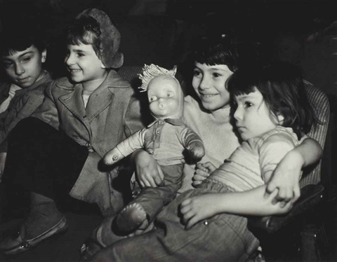childrens performance at the palace theater by weegee