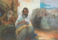 rabbin à marrakech by nicolae gropeanu
