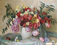 vase de fleurs by constantin font