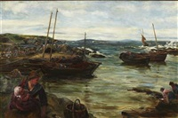 return of the fleet, macduff by john robertson reid