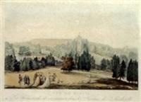 vue de russie: les promenades de catherine ii dans les jardins de sarskocello by m.f. damame demartrait