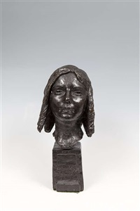 head of a young girl (máire) by jerome connor