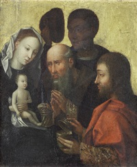the adoration of the magi by ambrosius benson
