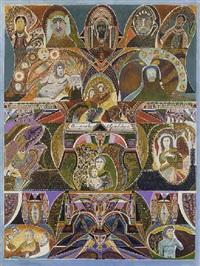 composition symbolique by augustin lesage