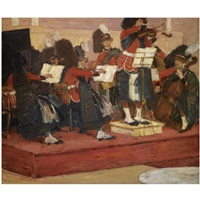 the scots guards band by gösta von hennigs