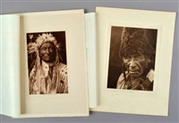 raw eater old man and long fox by edward sheriff curtis