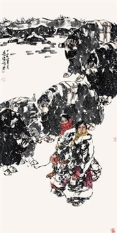 藏区冬季 by li wei