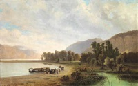 veduta di lago by giovanni battista lelli