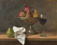 pears & wine by tom alberts